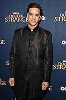 "Alaa Safi<br /> at the ""Doctor Strange"" launch event, Westminster Abbey, London.<br /> <br /> <br /> ©Ash Knotek  D3189  24/10/2016"