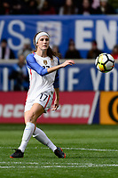 Harrison, NJ - Sunday March 04, 2018: Tierna Davidson during a 2018 SheBelieves Cup match match between the women's national teams of the United States (USA) and France (FRA) at Red Bull Arena.