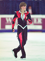 Ilia Kulik Russia. Skate Canada. Photo copyright Scott Grant