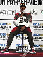 DALLAS, TX - DECEMBER 3: Habib Ahmed attends the undercard press conference for the Errol Spence Jr. vs Danny Garcia December 5, 2020 Fox Sports PBC Pay-Per-View title fight at AT&T Stadium in Arlington, Texas. (Photo by Frank Micelotta/Fox Sports)