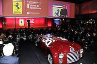 Ferrari President and FCA CEO Sergio Marchionne  <br /> Milano 04-01-2016 Borsa <br /> Esordio in borsa per la Ferrari. <br /> The company Ferrari began trading at stock exchange today <br /> foto Daniele Buffa/Image Sport/Insidefoto
