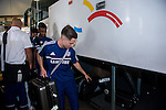 Chelsea arrive to the Hong Kong International Airport ahead the HKFC Citibank Soccer Sevens 2014 on May 21, 2014 in Hong Kong, China. Photo by Aitor Alcalde / Power Sport Images