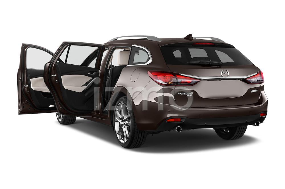 Car images of 2015 Mazda Mazda 6 Skycruse 5 Door Wagon Doors