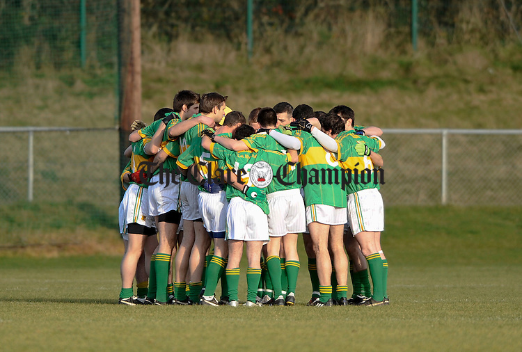 The Kilmihil team before the Intermediate Munster Club final at Mallow. Photograph by John Kelly.