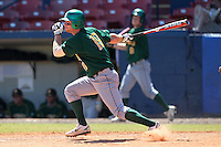 North Dakota State Bisons Nick Colwell #19 during a game vs Bradley Braves at Chain of Lakes Park in Winter Haven, Florida;  March 17, 2011.  Bradley defeated North Dakota State 6-5.  Photo By Mike Janes/Four Seam Images