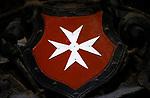 Malta, Valetta: Malteser Kreuz - Wappen | Malta, Valetta: Maltese Cross - coat of arms