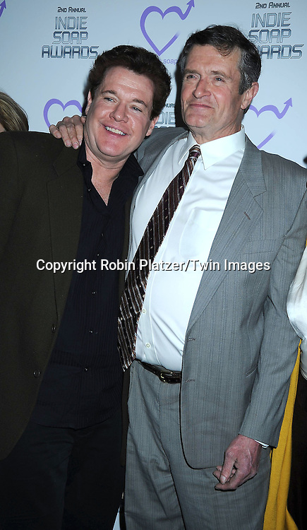 Michael O' Leary and Jordan Clarke attending The 2nd Annual Indie Soap Awards on February 21, 2011 at The Alvin Ailey Studios in  New York City sponsored by We Love Soaps.