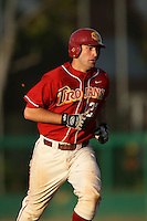 March 7 2010: Keith Castillo of USC during game against University of New Mexico at Dedeaux Field in Los Angeles,CA.  Photo by Larry Goren/Four Seam Images