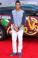 """HOLLYWOOD, LOS ANGELES, CA, USA - MARCH 11: Cory Hardrict at the World Premiere Of Disney's """"Muppets Most Wanted"""" held at the El Capitan Theatre on March 11, 2014 in Hollywood, Los Angeles, California, United States. (Photo by Xavier Collin/Celebrity Monitor)"""