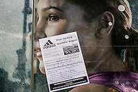 """25.04.2014 - """"Stop Stealing Workers' Wages"""" - Demo at Adidas Flagship Store in London"""