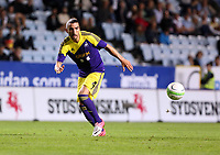 Thursday 08 August 2013<br /> Pictured: Chico Flores of Swansea<br /> Re: Malmo FF v Swansea City FC, UEFA Europa League 3rd Qualifying Round, Second Leg, at the Swedbank Stadium, Malmo, Sweden.