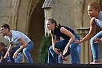 Grand Remix de la Messe pour le temps présent<br /> <br /> Maurice Béjart<br /> Chorégraphie des Jerks<br /> Avec l'autorisation de la Fondation Maurice Béjart<br /> <br /> Hervé Robbe chorégraphe<br /> Chorégraphie du Grand Remix<br /> <br /> Pierre Henry musique<br /> Etudiants de l'Ecole supérieure du Centre national de danse contemporaine - Angers interprétation<br /> Production Centre national de danse contemporaine - Angers, direction Robert Swinston<br /> <br /> Danseurs : Etudiants de l'Ecole supérieure du Centre national de danse contemporaine - Angers,<br /> Maxime Aubert, Yohann Baran, Amandine Brun, Auranne Brunet-Manquat, Pauline Dassac, Julien Derradj, Nolwenn Ferry, Lara Gouix, Agata Jarosova, Alice Lada, Juan Pablo Landazuri, Théo Le Bruman, Charlotte Louvel, Kevin Martial, José Meireles, Victoria Pignato, Pauline Sonnic, Jeanne Stuart, Anaïs Vignon, Jiaqi Wu<br /> <br /> Transmission des Jerks Dominique Genevois, Juichi Kobayashi<br /> Directeur de l'Ecole supérieure du Centre national de danse contemporaine - Angers Robert Swinston<br /> Création Lumière François Maillot<br /> Costumes Anne Poupelin<br /> Lieu : Cloître de l'Abbaye de Royaumont<br /> Ville : Asnières sur Oise<br /> Date : 25/09/2016