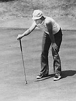 Jocelyne Bourassa,Golf<br /> <br /> Photo : Boris Spremo - Toronto Star archives - AQP