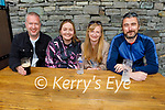 Enjoying the afternoon in Killarney on Monday, l to r: David Anderson, Deirdre Duggan, Laura Collins and Gerry Sheehan, all from Tralee.