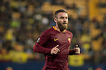 Daniele De Rossi of AS Roma during the match Villarreal CF vs AS Roma during their UEFA Europa League 2016-17 Round of 32 match at the Estadio de la Cerámica on 16 February 2017 in Villarreal, Spain. Photo by Maria Jose Segovia Carmona / Power Sport Images