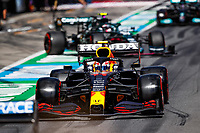 July 3rd 2021; F1 Grand Prix of Austria, qualifying sessions;  PEREZ Sergio (mex), Red Bull Racing Honda RB16B during the  2021 Austrian Grand Prix, 9th round of the 2021 FIA Formula One World Championship