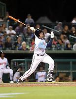 Casey Golden participates in the 2019 California League All-Star Game at San Manuel Stadium on June 18, 2019 in San Bernardino, California (Bill Mitchell)