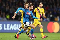Fabian Ruiz of Napoli<br /> Napoli 25-02-2020 Stadio San Paolo <br /> Football Champions League 2019/2020 - Round 16, 1st leg<br /> SSC Napoli - FC Barcelona<br /> Photo Cesare Purini / Insidefoto