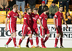St Johnstone v Aberdeen…13.12.17…  McDiarmid Park…  SPFL<br />Ryan Christie celebrates his goal<br />Picture by Graeme Hart. <br />Copyright Perthshire Picture Agency<br />Tel: 01738 623350  Mobile: 07990 594431