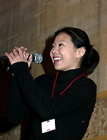 Actress Anabel Chong at Fantasia Film Festival in Montreal, August 1999<br /> <br /> Photo : (c) :  Pierre Roussel, 1999<br /> <br /> Digital Camera Image<br /> l
