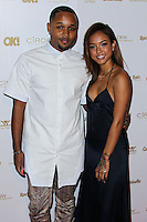 WEST HOLLYWOOD, CA, USA - FEBRUARY 27: J. Ryan La Cour, Karrueche Tran at the OK! Magazine Pre-Oscar Party 2014 held at Greystone Manor Supperclub on February 27, 2014 in West Hollywood, California, United States. (Photo by Xavier Collin/Celebrity Monitor)