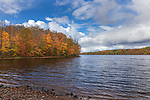 A pretty autumn day on the Chippewa Flowage in northern Wisconsin.