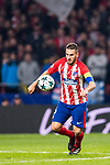 Jorge Resurrection Merodio, Koke, of Atletico de Madrid runs with the ball during the UEFA Champions League 2017-18 match between Atletico de Madrid and AS Roma at Wanda Metropolitano on 22 November 2017 in Madrid, Spain. Photo by Diego Gonzalez / Power Sport Images