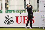 Graeme Storm of England tees off the first hole during the 58th UBS Hong Kong Open as part of the European Tour on 08 December 2016, at the Hong Kong Golf Club, Fanling, Hong Kong, China. Photo by Marcio Rodrigo Machado / Power Sport Images