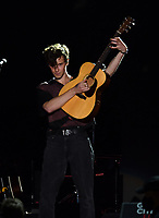 NEW YORK, NY- SEPTEMBER 25: Shawn Mendes at the 2021 Global Citizen Live Festival at the Great Lawn in Central Park, New York City on September 25, 2021. Credit: John Palmer/MediaPunch