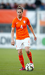 Nederland, Rotterdam, 20 mei 2015<br /> Oefeninterland voor WK Canada 2015<br /> Seizoen 2014-2015<br /> Nederland-Estland<br /> Merel van Dongen van Nederland in actie met bal