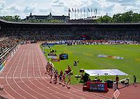 4th July 2021; Stockholm Olympic Stadium, Stockholm, Sweden; Diamond League Grand Prix Athletics, Bauhaus Gala; women's 1500m underway