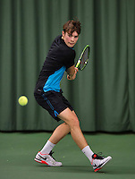 Rotterdam, The Netherlands, March 19, 2016,  TV Victoria, NOJK 14/18 years, Ryan Nijboer (NED)<br /> Photo: Tennisimages/Henk Koster