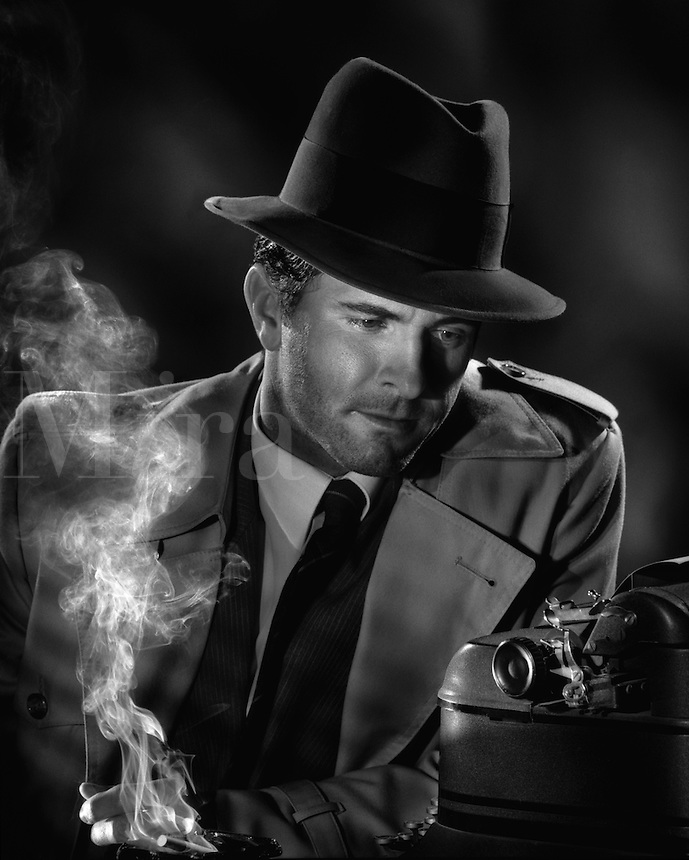 Investigative reporter.