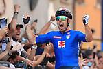 2021 UEC Road Cycling European Championships. Trento, Italy on September 12, 2021. Elite Men Road Race, Sonny COLBRELLI (ITA),