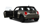 Car images close up view of a 2019 Mini mini Cooper 3 Door Hatchback doors
