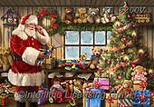 CHRISTMAS SANTA, SNOWMAN, WEIHNACHTSMÄNNER, SCHNEEMÄNNER, PAPÁ NOEL, MUÑECOS DE NIEVE, paintings+++++,KL6200V,#x# ,puzzle,puzzles