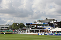 General view of the Pavilion and West Stand (L) at the Ford County Ground - Essex CCC vs Durham CCC - LV County Championship Cricket at the Ford County Ground, Chelmsford -  09/09/10 - MANDATORY CREDIT: Gavin Ellis/TGSPHOTO - Self billing applies where appropriate - Tel: 0845 094 6026