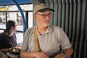 Phil, Budapest tram, 2014.