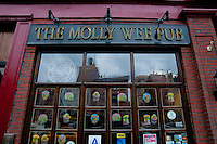 The Irish Molly Wee Pub on Manhattan, New York