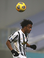 Football: Super Cup Final Juventus vs Napoli at Mapei Stadium in Reggio Emilia, on January 20,  2021.<br /> Juventus' Juan Cuadrado in action during the Italian Super Cup Final match between Juventus and Napoli at Mapei Stadium in Reggio Emilia, on January 20,  2021.<br /> UPDATE IMAGES PRESS/Isabella Bonotto