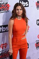 Selena Gomez @ the 2016 iHeart Radio Music awards held @ the Forum.<br /> April 3, 2016