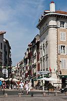 Europe/France/Aquitaine/64/Pyrénées-Atlantiques/Pays-Basque/Bayonne: Rue d'Espagne
