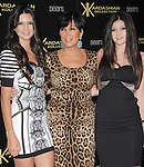 Kylie Jenner,Kris Jenner and Kendall Jenner attends The Launch Party for The Kardashian Kollection for Sears held at The Colony in Hollywood, California on August 17,2011                                                                               © 2011 DVS / Hollywood Press Agency