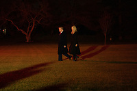 United States President Donald J. Trump and First Daughter and Advisor to the President Ivanka Trump, depart the White House en route to Dalton, Georgia, in Washington D.C., U.S., on Monday, January 4, 2021. <br /> CAP/MPI/RS<br /> ©RS/MPI/Capital Pictures