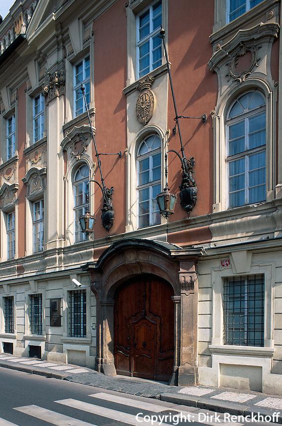 Waldsteinstrasse, Prag, Tschechien, Unesco-Weltkulturerbe.