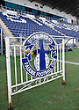 General View of Falkirk Stadium ... Former gate from Brockville ...