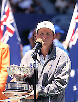 1997, Australian Open, winner Mixed Doubles, Manon Bollegraf (NED)