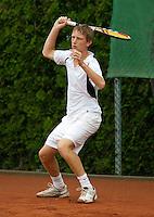 12-8-09, Den Bosch,Nationale Tennis Kampioenschappen, 1e ronde,    David de Goede
