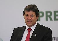 SAO PAULO, SP, 05 MARÇO DE 2013 - LANÇAMENTO EXPO 2020 - O prefeito de São Paulo Fernando Haddad durante lançamento da candidatura de São Paulo como sede da Expo 2020, nesta terça-feira, 05. (FOTO: VANESSA CARVALHO / BRAZIL PHOTO PRESS).