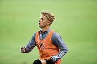 CARSON, CA - SEPTEMBER 06: Bryce Duke #19 of LAFC during a game between Los Angeles FC and Los Angeles Galaxy at Dignity Health Sports Park on September 06, 2020 in Carson, California.